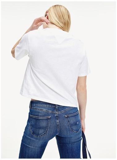 Tommy Jeans Tişört Beyaz